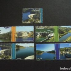 Sellos: PORTUGAL Nº YVERT 3131/5*** AÑO 2007. PRESAS. Lote 133776606