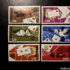 Timbres: PORTUGAL. YVERT 1227/33. SERIE COMPLETA NUEVA SIN CHARNELA. UPU. TRANSPORTES. Lote 135628695