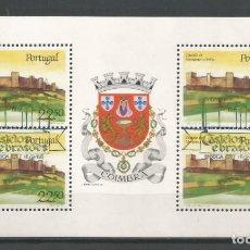 Sellos: PORTUGAL AÑO 1986. HOJA CARNÉ Nº C1676 CATÁLOGO YVERT. USADA. Lote 138899110