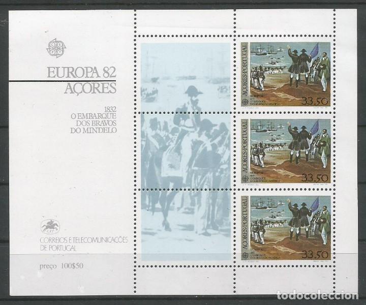 PORTUGAL - AZORES AÑO 1982. HOJA BLOQUE Nº 3 CATÁLOGO YVERT. NUEVA (Sellos - Extranjero - Europa - Portugal)