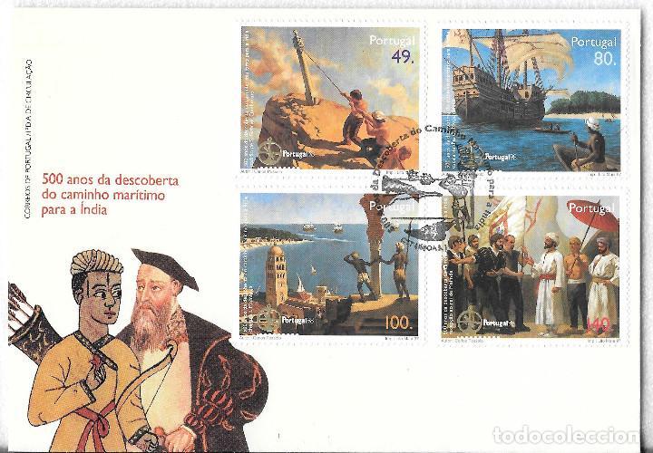PORTUGAL 1997. 500 ANIVERSARIO DESCUBRIMIENTO DEL CAMINO A INDIA. SPD. YT 2202-5 (Sellos - Extranjero - Europa - Portugal)
