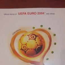 Sellos: SELLOS PORTUGAL UEFA EURO 2004. Lote 146659614
