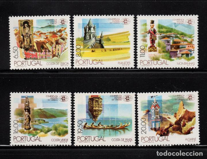 PORTUGAL 1476/81** - AÑO 1980 - CONFERENCIA MUNDIAL DEL TURISMO (Sellos - Extranjero - Europa - Portugal)