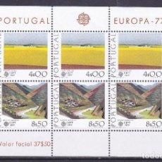 Sellos: PORTUGAL 1977 - HOJA BLOQUE - EUROPA CEPT - NUEVA SIN FIJASELLOS . Lote 147381946