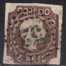Sellos: PORTUGAL 1856 PEDRO V - SC 9 USED - 9/26. Lote 147562370