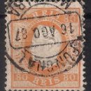 Sellos: PORTUGAL 1871 LUIS I - MI. 40 FUNCHAL USED - 9/26. Lote 147563158