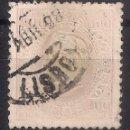 Sellos: PORTUGAL 1871 LUIS I - MI. 41 USED - 9/26. Lote 147563214