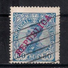 Sellos: PORTUGAL 1910 MI 174 USED - 9/27. Lote 147564238