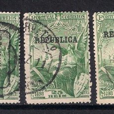 Sellos: PORTUGAL 1898 - 1911 MI. 141 AND 184 USED - 9/27. Lote 147564482