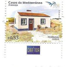 Sellos: PORTUGAL ** & CASAS DEL MEDITERRÁNEO, ALENTEJO 2018 (6820). Lote 147648334