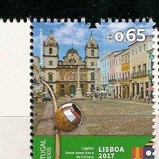 Sellos: PORTUGAL ** & LISBOA, CAPITAL IBEROAMERICANA DE LA CULTURA 2017 (8693). Lote 147650374