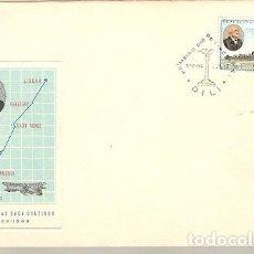 Sellos: PORTUGAL ULTRAMAR & TIMOR FDC CENTENÁRIO DE CARLOS VIEGAS GAGO COUTINHO, DILI 1869-1969 (7775). Lote 148077186