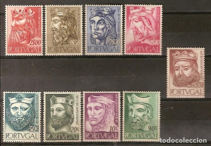 PORTUGAL ** & REYES DE PORTUGAL, PRIMERA DINASTÍA 1955 (806) (Sellos - Extranjero - Europa - Portugal)
