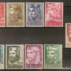 Sellos: PORTUGAL ** & REYES DE PORTUGAL, PRIMERA DINASTÍA 1955 (806). Lote 148765446