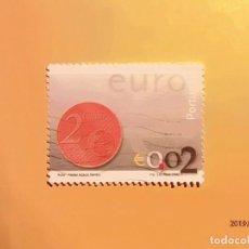 Sellos: PORTUGAL 2002 - EL EURO - €.. Lote 151429258