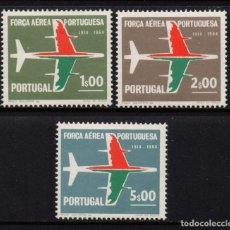Sellos: PORTUGAL 974/76** - AÑO 1965 - 50º ANIVERSARIO DE LAS FUERZA AEREA NACIONAL. Lote 156514438