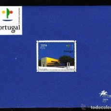 Sellos: PORTUGAL 2000 HB IVERT 166 *** EXPOSICIÓN UNIVERSAL EN HANOVER - PABELLON DE PORTUGAL. Lote 157387718
