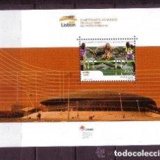 Sellos: PORTUGAL 2001 HB IVERT 171 *** CAMPEONATO DEL MUNDO DE ATLETISMO EN PISTA CUBIERTA - DEPORTES. Lote 157388362