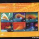 Sellos: PORTUGAL 2001 HB IVERT 174 *** OPORTO - CAPITAL EUROPEA DE LA CULTURA. Lote 157388598