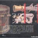 Sellos: PORTUGAL 2001 HB IVERT 176 *** 150º ANIVERSARIO DEL MUSEO MILITAR - ARMAS DE FUEGO. Lote 157388906