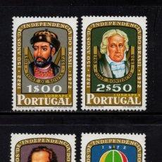 Sellos: PORTUGAL 1165/68** - AÑO 1972 - 150º ANIVERSARIO DE LA INDEPENDENCIA DE BRASIL. Lote 158554966