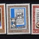 Sellos: PORTUGAL 1208/10** - AÑO 1974 - 4º CENT. DE LA MUERTE DE DAMIAO DE GOIS, HISTORIADOR Y HUMANISTA. Lote 158555194