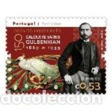 Sellos: PORTUGAL ** & EDICIÓN CONJUNTA CON ARMENIA, 150 AÑOS DE CALOUSTE SARKIS GULBENKIAN 2019 (8420). Lote 158828418