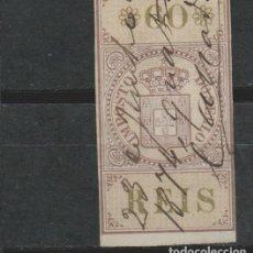 Sellos: LOTE 6 SELLOS VIÑETA MUY ANTIGUA PORTUGAL. Lote 158952002