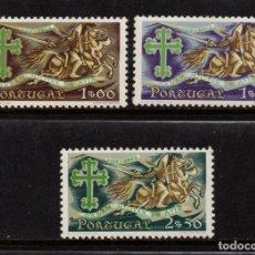 Sellos: PORTUGAL 926/28** - AÑO 1963 - 8º CENTENARIO DE LA ORDEN MILITAR DE AVIZ. Lote 159391146