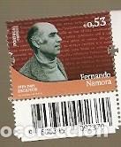 PORTUGAL ** & CIFRAS DE LA HISTORIA Y DE LA CULTURA, FERNANDO NAMORA, ESCRITOR 2019 (3422) (Sellos - Extranjero - Europa - Portugal)