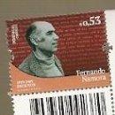 Sellos: PORTUGAL ** & CIFRAS DE LA HISTORIA Y DE LA CULTURA, FERNANDO NAMORA, ESCRITOR 2019 (3422). Lote 160525282