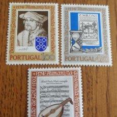 Sellos: PORTUGAL: N°1280/82 MNH,AÑO 1974,HISTORIADORES Y HUMANISTAS.. Lote 163043324