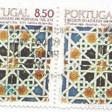 Sellos: 4 SELLOS USADOS PORTUGAL 1973 Y 1981-TORRE DE CLERIGOS Y AZULEJOS- VER FOTOS. Lote 163510186