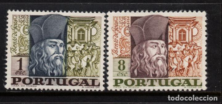 PORTUGAL 1030/31** - AÑO 1968 - HOMENAJE A BETO DE GOES SOLDADO Y MISIONERO (Sellos - Extranjero - Europa - Portugal)