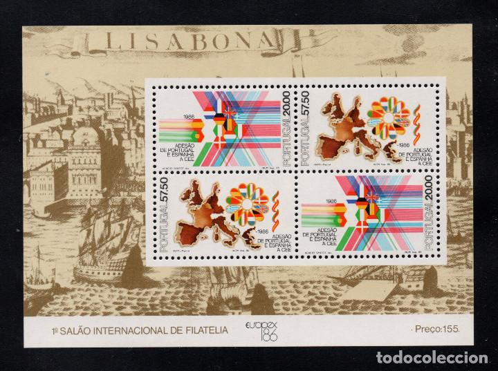 PORTUGAL HB 53** - AÑO 1986 - EUROPEX 86, SALON INTERNACIONAL DE LA FILATELIA (Sellos - Extranjero - Europa - Portugal)