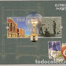 Sellos: PORTUGAL ** & ELECTRICIDAD EN PORTUGAL, MUSEO DE LA ELECTRICIDAD 2018 (6886). Lote 165738498