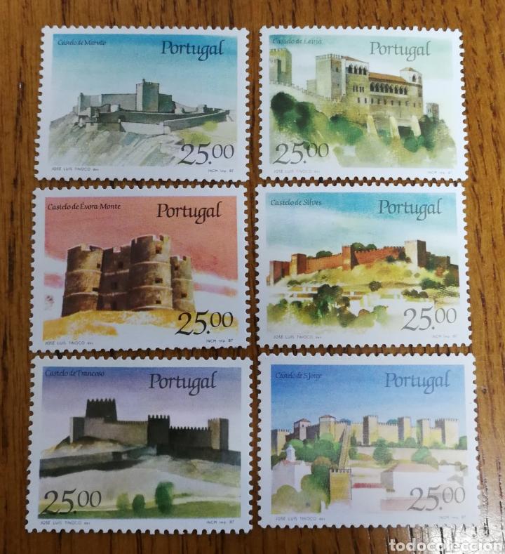 PORTUGAL: TEMA. CASTILLOS AÑO 1987 MLH (Sellos - Extranjero - Europa - Portugal)