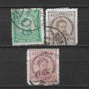 Sellos: PORTUGAL 1882-87 USADOS - 5/45. Lote 168366564