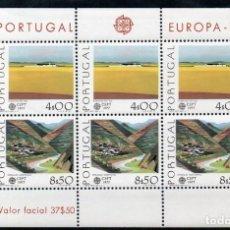 Sellos: PORTUGAL AÑO 1978 YV HB 20*** EUROPA - VISTAS Y PAISAJES - TURISMO. Lote 168635736