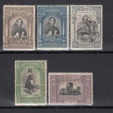 Sellos: PORTUGAL, 1927 YVERT Nº 441, 444, 445, 447, 449, 450, 451, 452, /*/. Lote 171038919