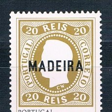 Sellos: PORTUGAL MADEIRA YVES 67 MNH**. Lote 171640003