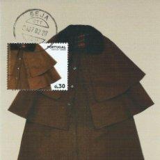 Sellos: 2007. PORTUGAL. MÁXIMA/MAXIMUM CARD. VESTIDOS TRADICIONALES/TRADITIONAL DRESS. CAPOTE. CAPE.. Lote 172861512