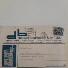 Sellos: TARJETA COMERCIAL BILLETE POSTAL. Lote 176407013
