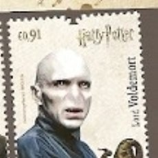 Sellos: PORTUGAL ** & SERIE HARRY POTTER, LORD VOLDEMORT 2019 (8128) . Lote 178335845