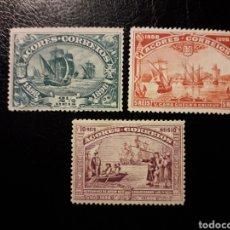 Sellos: AZORES. PORTUGAL. YVERT 90, 91 Y 92. SELLOS SUELTOS MAYORIA SIN GOMA. UN SELLO PEQUEÑO DESCARNE,.. Lote 178991401
