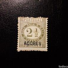 Sellos: AZORES. PORTUGAL. YVERT 32 SELLO SUELTO NUEVO CON CHARNELA. SOBRECARGADO. Lote 178991496