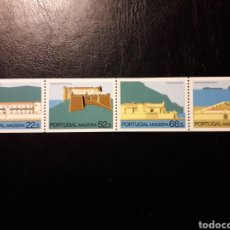 Sellos: MADEIRA. PORTUGAL. YVERT 112A/5A. (DE CARNET). SERIE COMPLETA NUEVA SIN CHARNELA. FORTALEZAS.. Lote 178992701