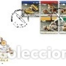 Sellos: PORTUGAL & FDC DULCES TRADICIONALES DE PORTUGAL III 2019 SERIES (8423). Lote 179013877