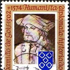 Sellos: (P0 463) SELLO PORTUGAL // YVERT 1208 // 1974. Lote 179106221