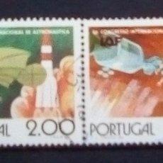 Sellos: PORTUGAL ASTRONOMÍA SERIE DE SELLOS USADOS. Lote 179148902